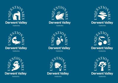 Unquestionably Derwent Valley logos