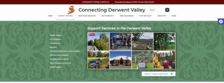 Connecting Derwent Valley website blade