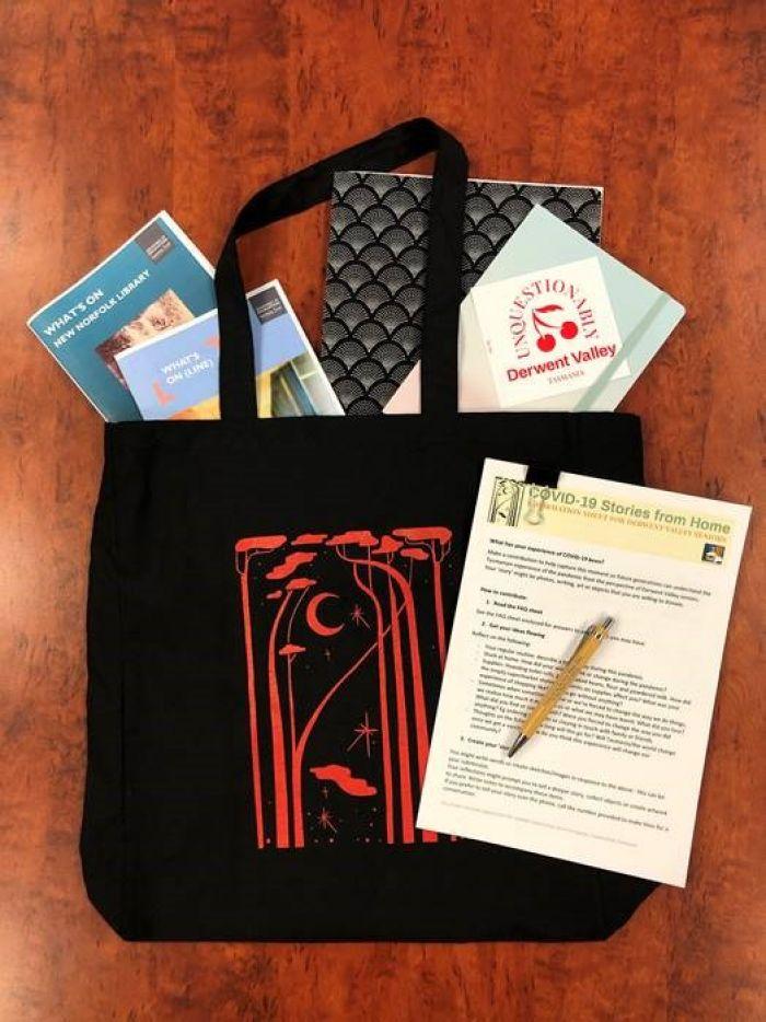 Seniors Week tote bag